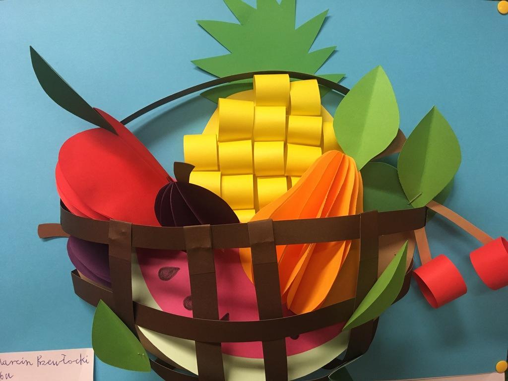 Praca plastyczna 7 z okazji Europejskiego Dnia Zdrowego Jedzenia