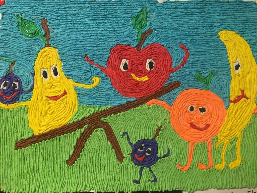 Praca plastyczna 6 z okazji Europejskiego Dnia Zdrowego Jedzenia