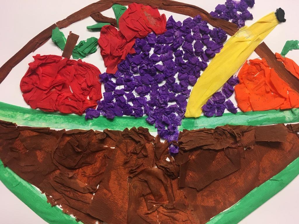 Praca plastyczna 4 z okazji Europejskiego Dnia Zdrowego Jedzenia