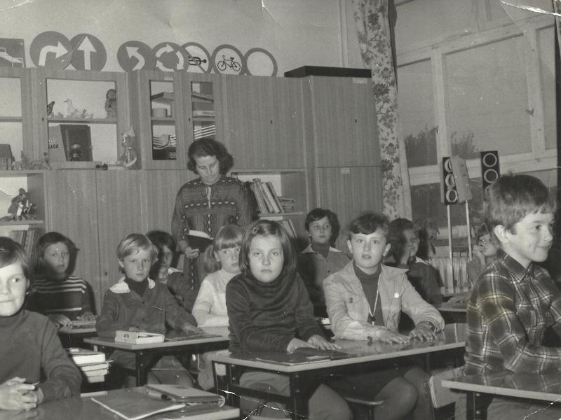 Zdjęcie zrobione w trakcie jednej z lekcji