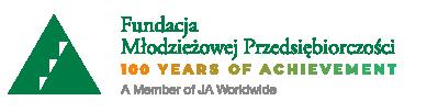 Logo Fundacji Młodzieżowej Przedsiębiorczości